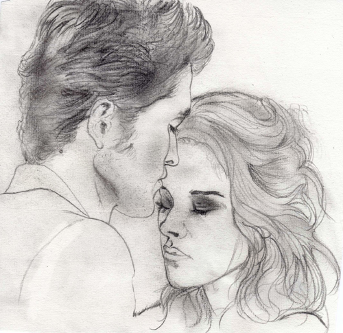 MTV Best Kiss sketch by StrawberryCake01 on DeviantArt
