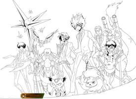 Line Art Reborn 240 by spidyy