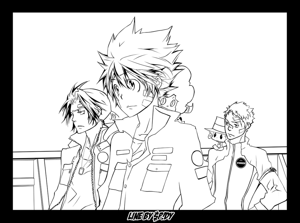 Line art reborn302 by spidyy