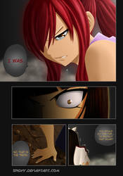 Fairy tail 314 p17 Erza Kagura