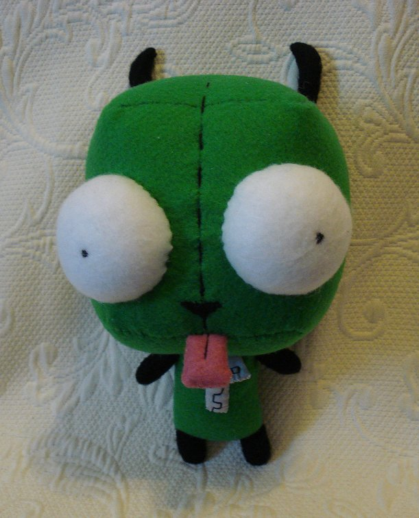Custom plush - Gir by silentorchid
