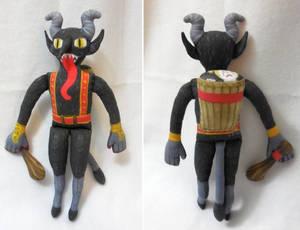Krampus in the Corner plush toy
