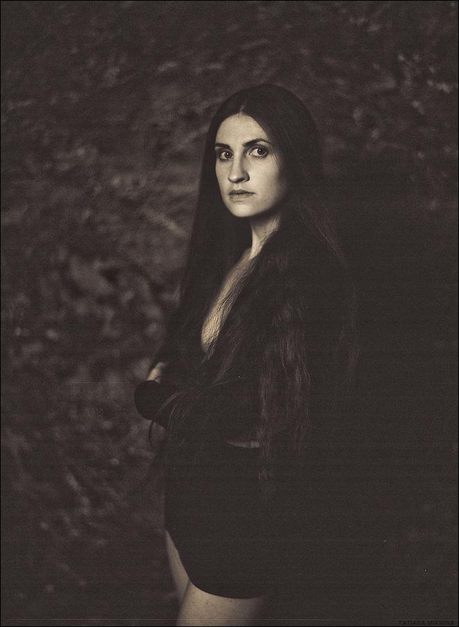 Old Portrait by Tatiannna