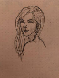 Woman Sketch by shunter071