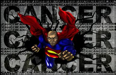 Superman Breaks Cancer! by shunter071