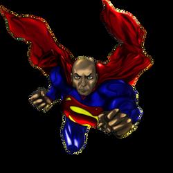 Superman in Flight! by shunter071