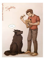 Dog Food - Sterek by spider999now