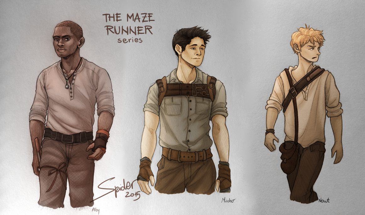 Gladers by spider999now