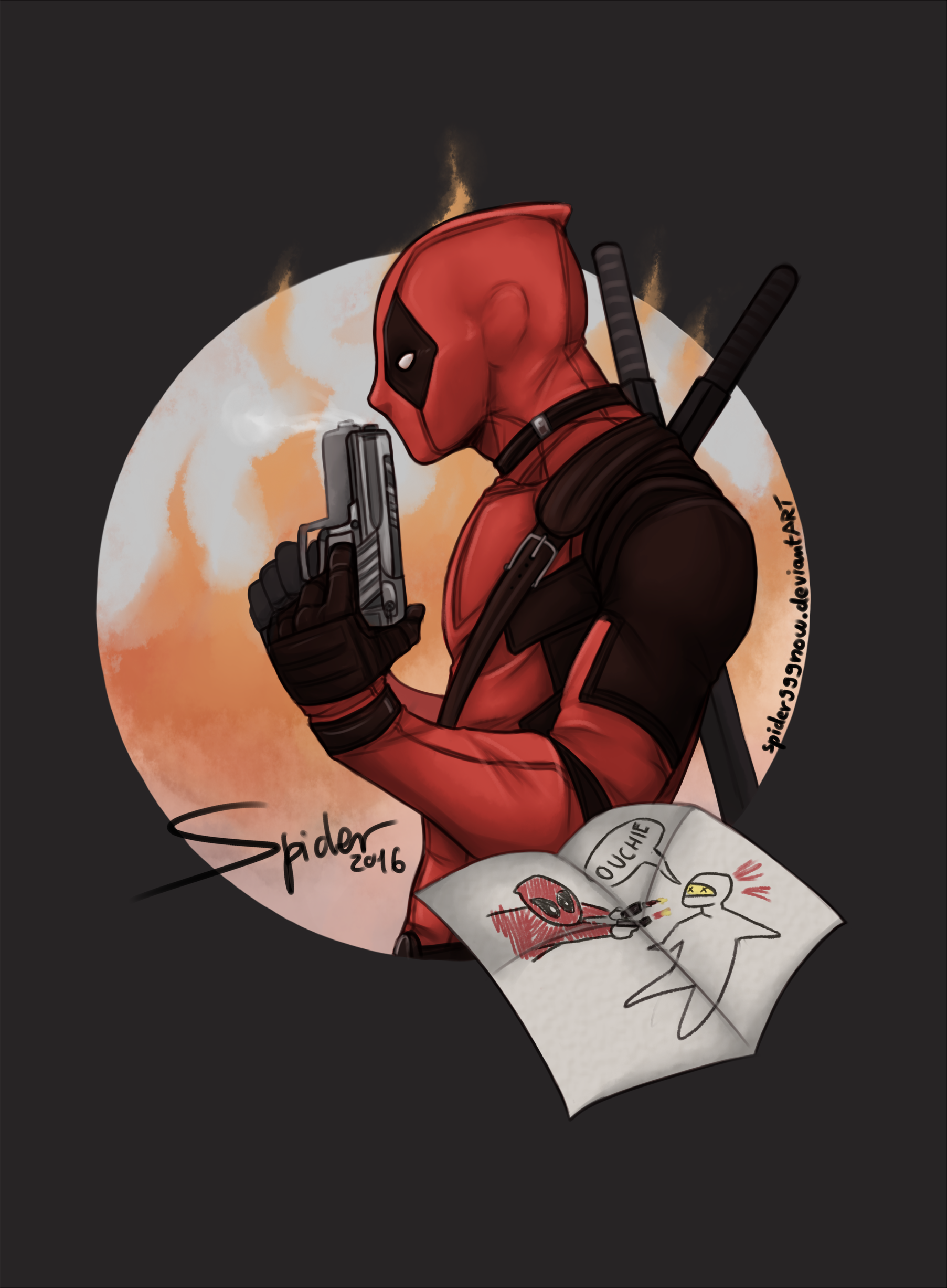 Deadpool by spider999now