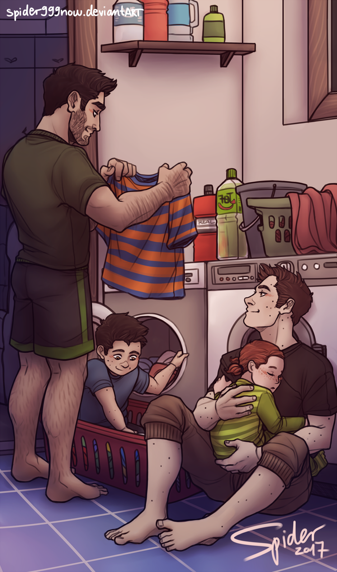 Laundry Day by spider999now