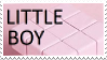 Little Boy - Pink || Stamp by Neriniex