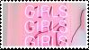 Girls x3    Pink Aesthetic [1]    Stamp by Neriniex