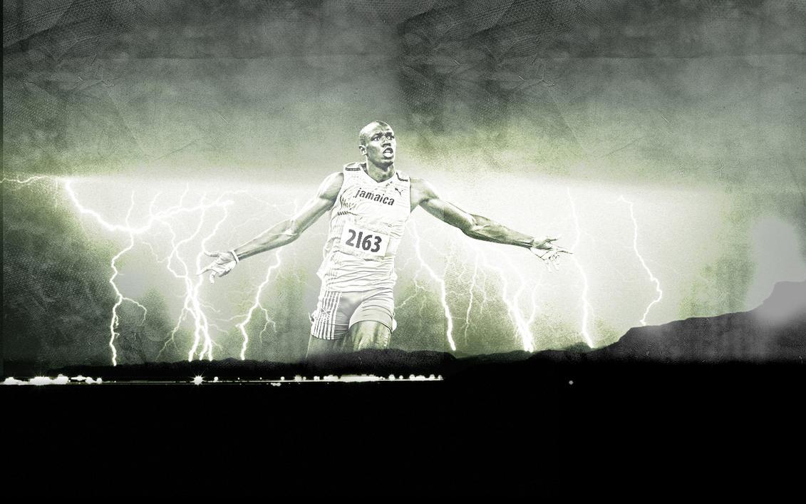 Usain Bolt by mat-cat