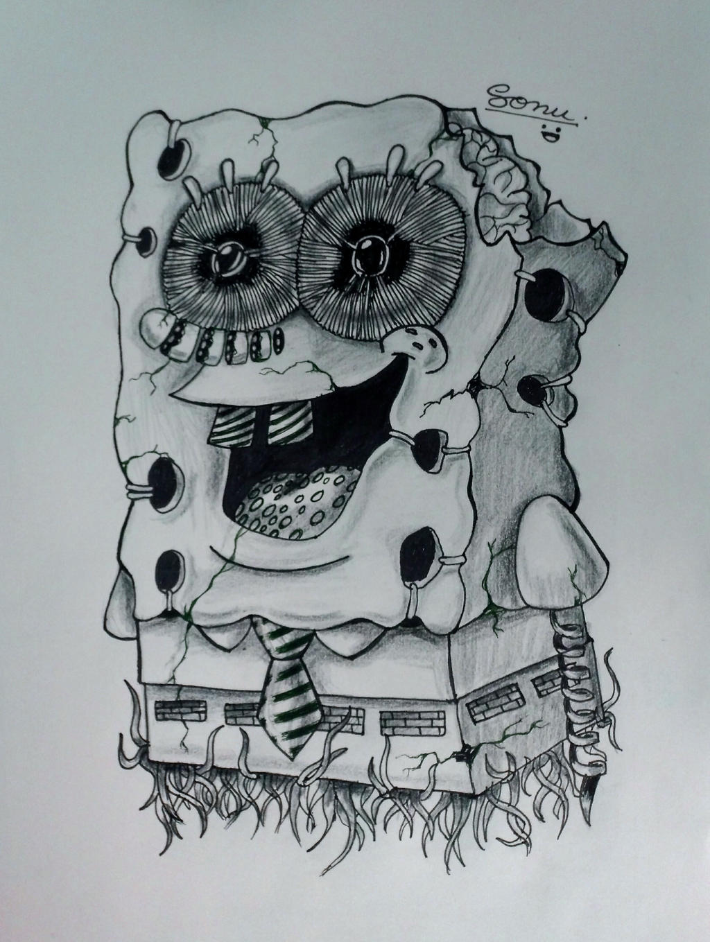 Spongebob Squarepants by sonu9
