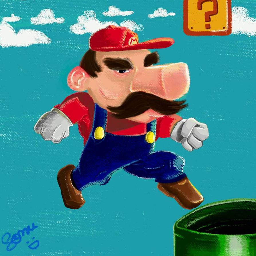 Super Mario!! by sonu9