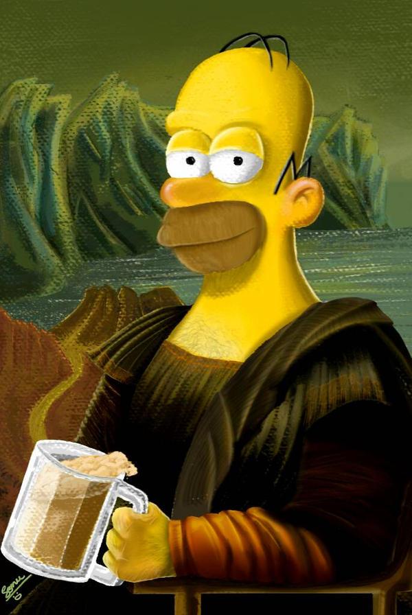 Homer Lisa by sonu9