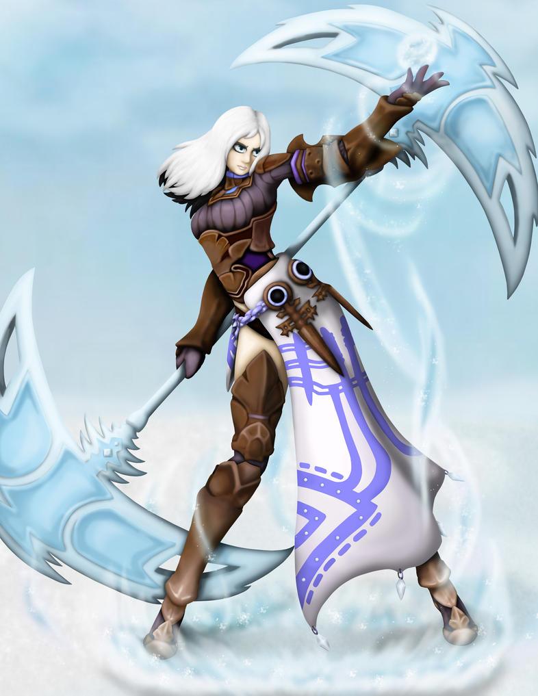 Shareynna in Dragon Nest Costume by FrostWolf095