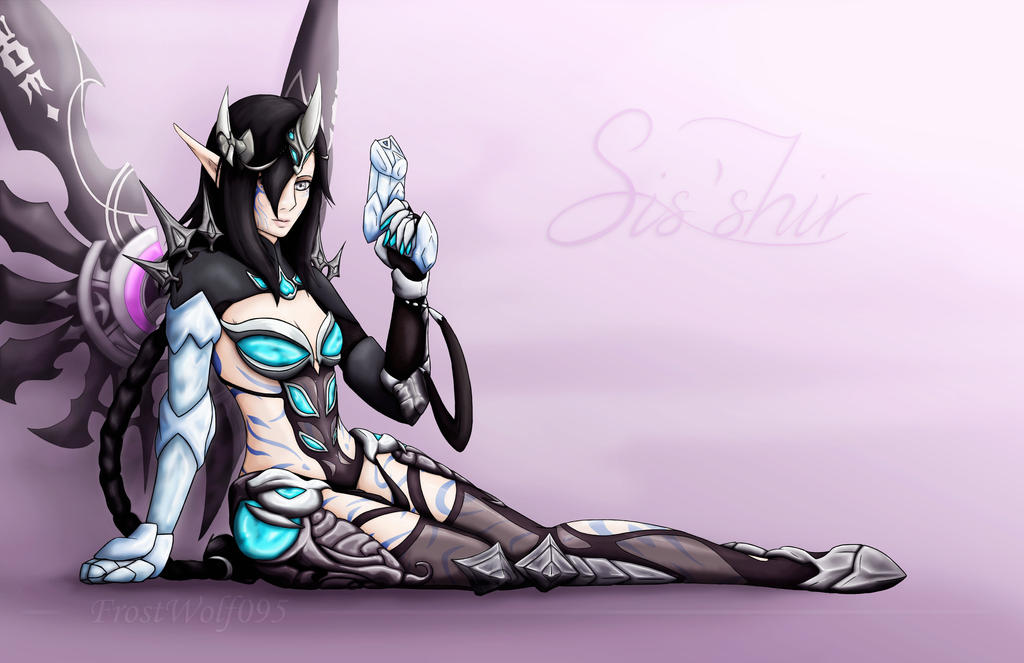 Sis'shir in Dragon Nest costume by FrostWolf095