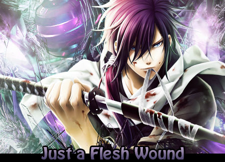 Just A Flesh Wound by Krucifiks
