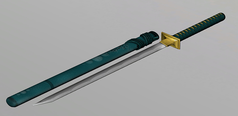 Kenshi's Blue Sword by scorpion-mileena on DeviantArt