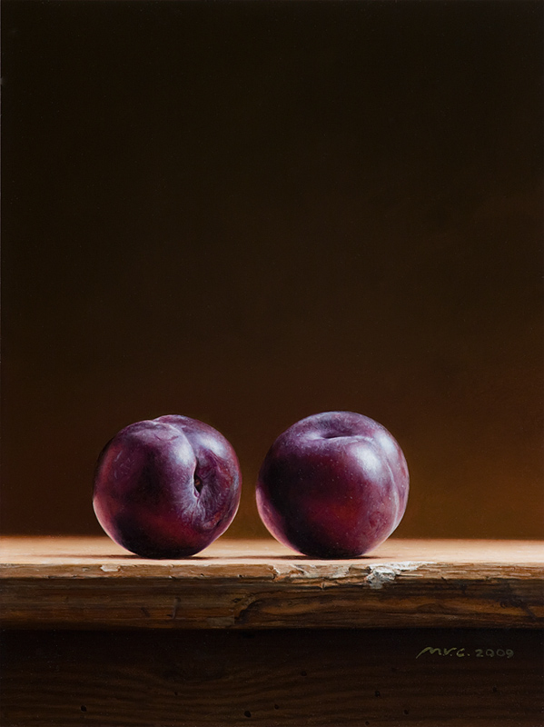Two Plums by m-v-c