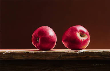 Two Apples by m-v-c