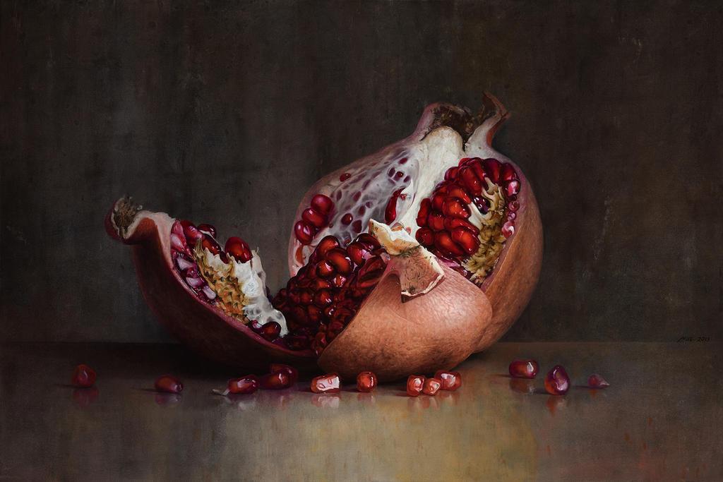 Pomegranate by m-v-c