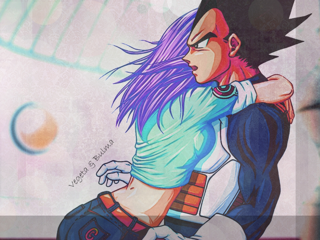 vegeta and bulma wallpaperobsessive-fan-girl on deviantart