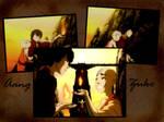 Aang and Zuko Wallpaper