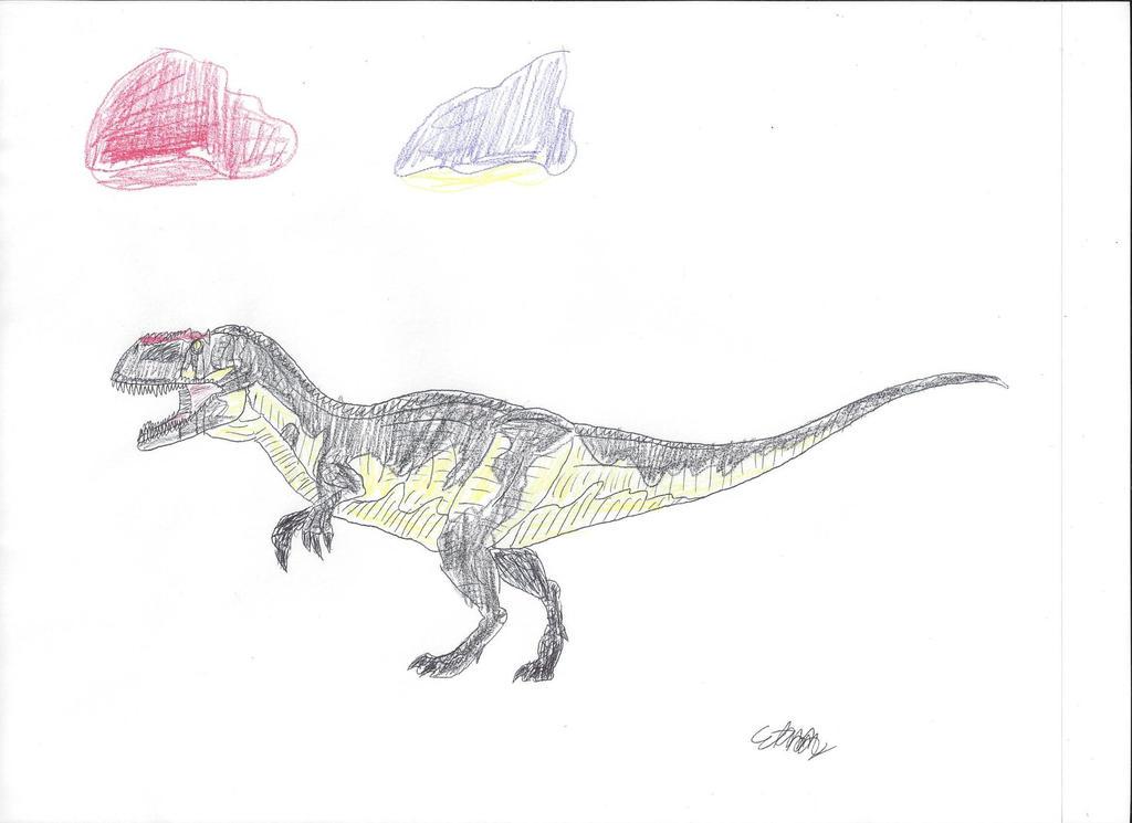 GP: Yangchuanosaurus by TarbosaurusBatar on DeviantArt