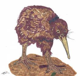 Dinovember Day 5: Fluffy Rat-bird