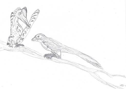 Dinovember Day 7: Vibing