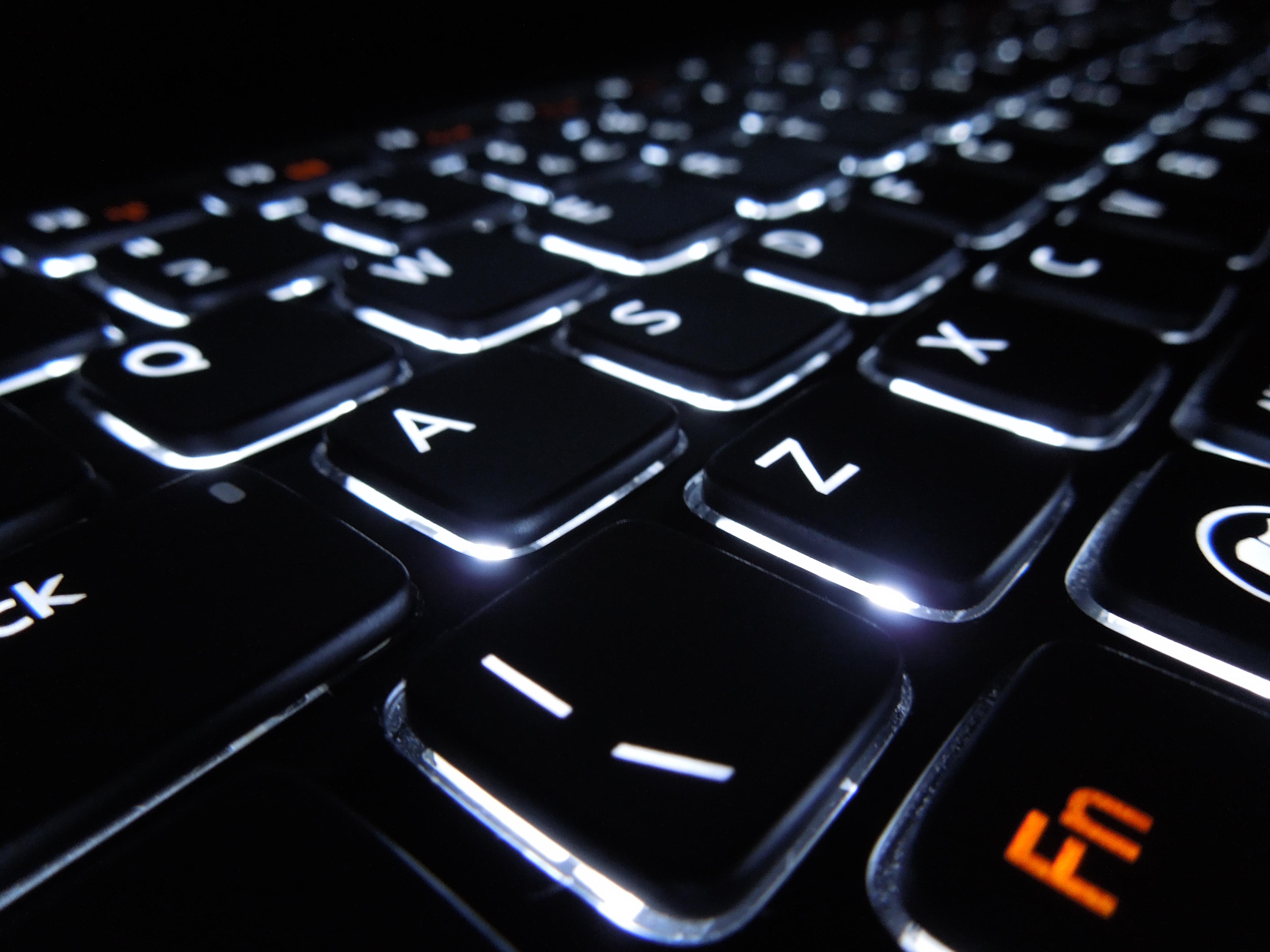backlit keyboard by blipzor on deviantart. Black Bedroom Furniture Sets. Home Design Ideas