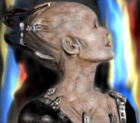 Borg Queen by diosaperdida
