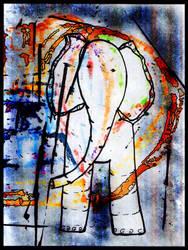 elephant by diosaperdida