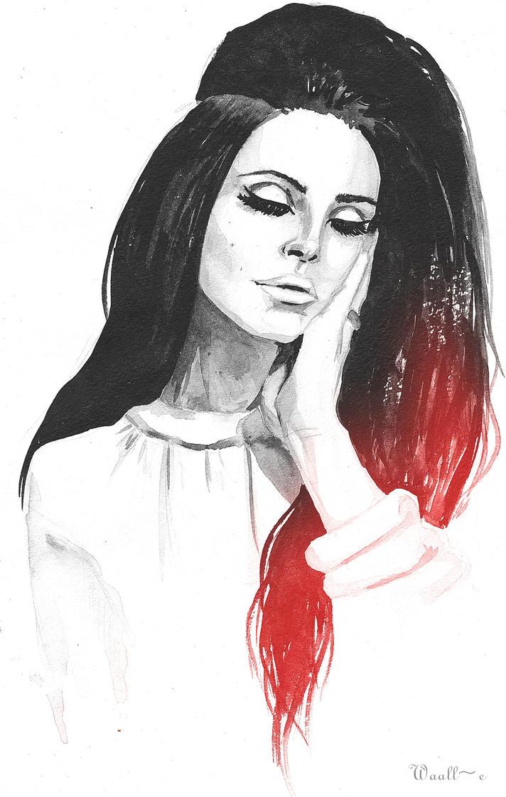 Lana Del Rey by Waall-e