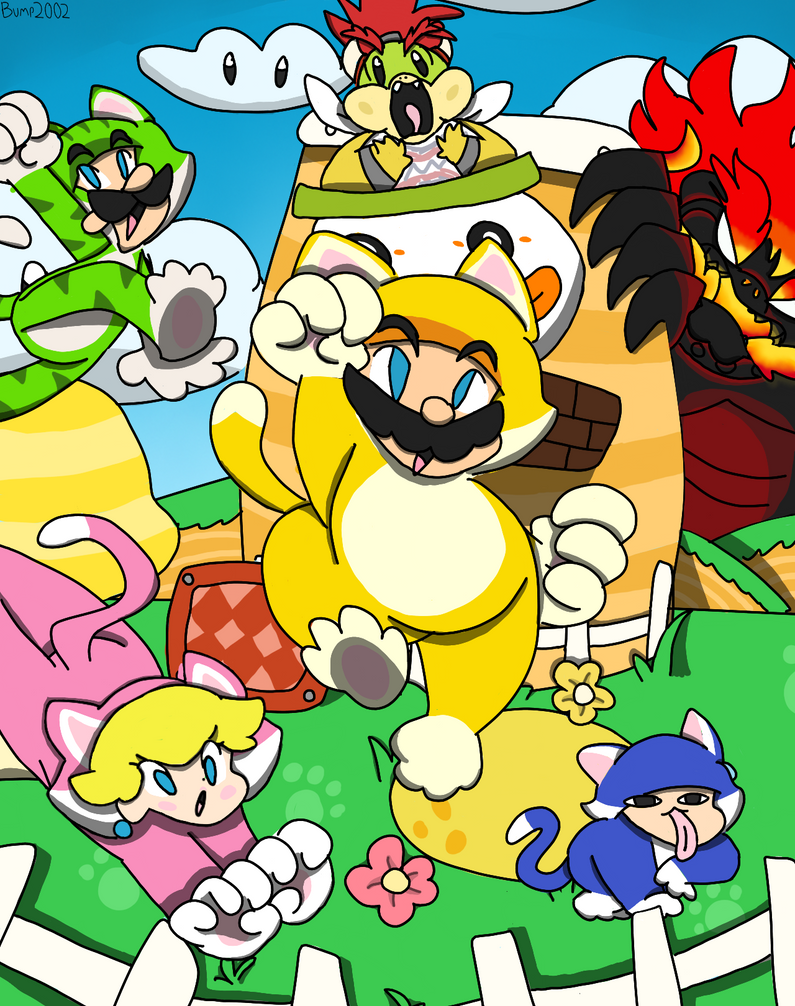 Super Mario 3D World!