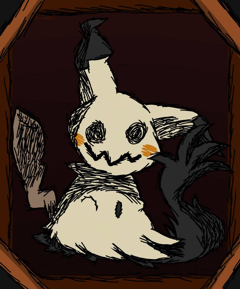 Mimikyu (Sketchy Ver.)