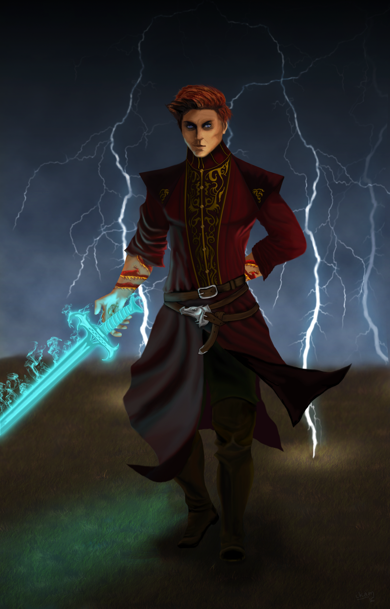 Rand al'Thor by ikammya on DeviantArt