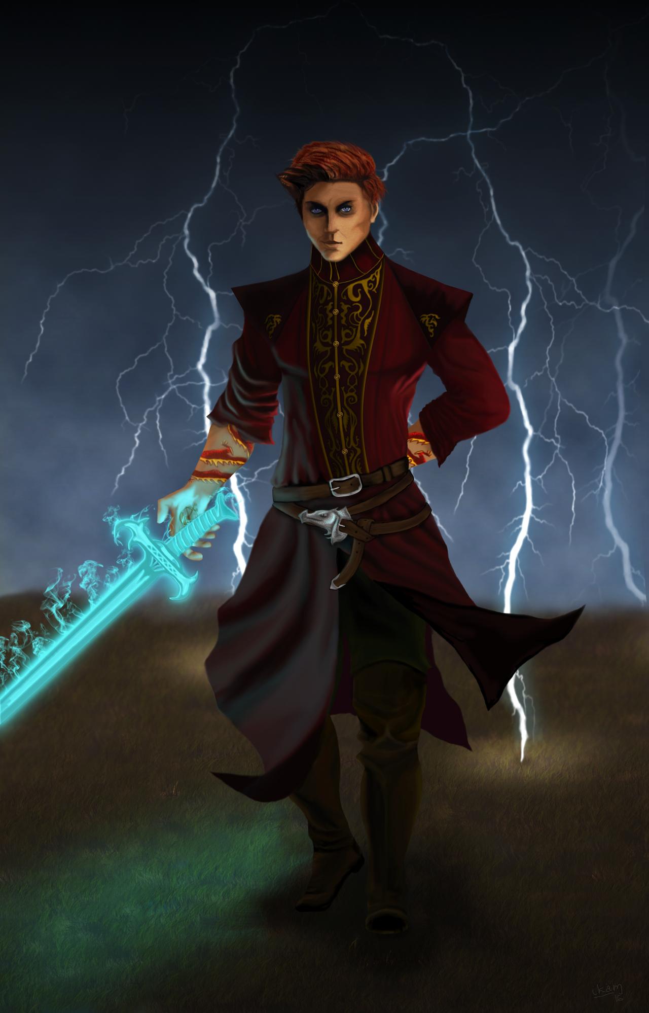 Rand al'Thor by ikammya on DeviantArt