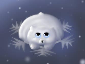 Snow bear by Lizandre