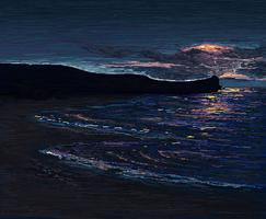 Beach Sunset by Lizandre