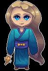 Genie In Kimono by Lizandre