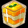 Mango and cream by Lizandre