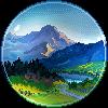 Mountain veiw by Lizandre