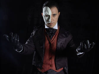 The Phantom of the Opera by vingaard
