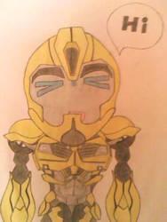 My Bumblebee Chibi by Arcee327