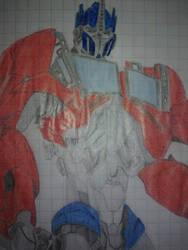 Optimus Prime by Arcee327