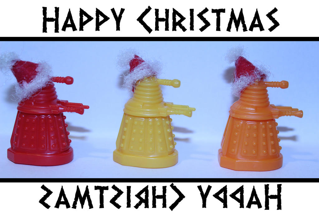 Christmas Daleks by Tigzzz