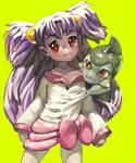 Iris and Kibago